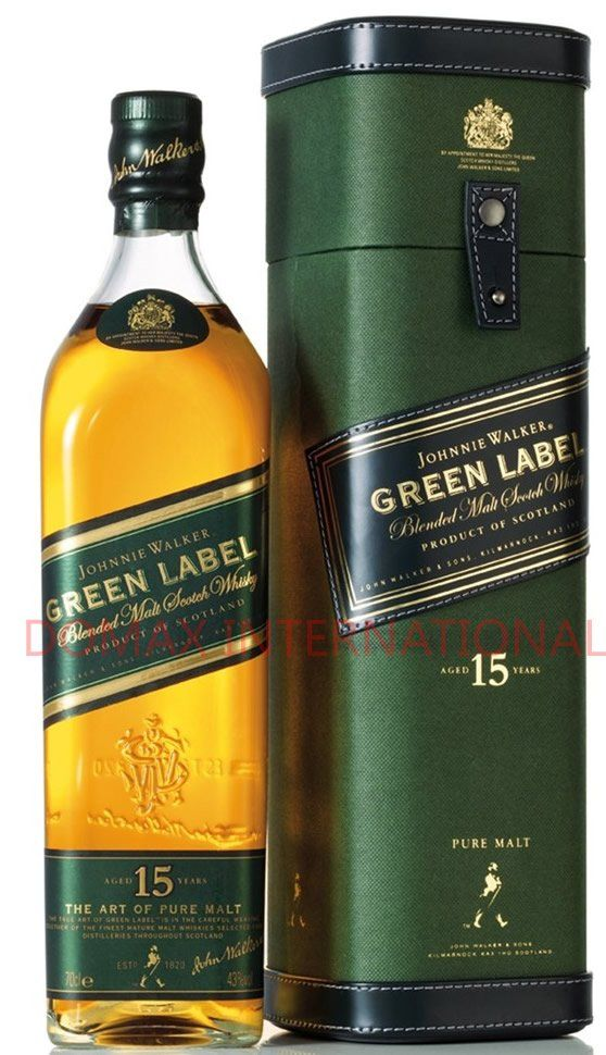 Offering Johnnie Walker Whisky Green Label 700ml