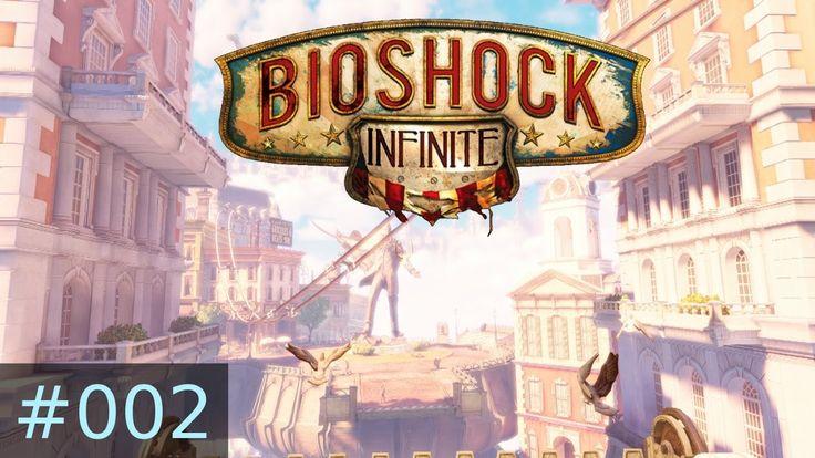 [#002] BioShock Infinite (PC) Gameplay by Taronia Gamenstein