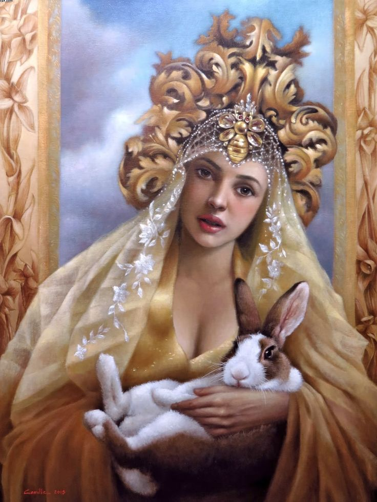 "#SurrealImpressionist Portraits by #CamilleDelaRosa—""The Enchantress Series"" #Art #Artworks #ContemporaryArt #Impressionism #Surrealism #FilipinaArtist #ArtPH"