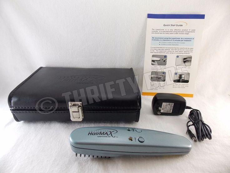 Lexington HairMax SE Laser Comb AC Adapter Guide & Case HMAX LaserComb Tested #Lexington