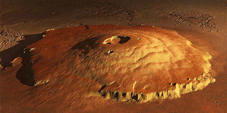 Olympus Mons : le toit du système solaire ! | LES JOYAUX DU CIEL