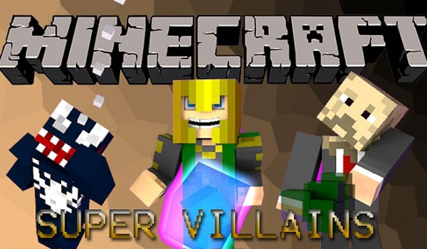 Super Villains Mod para Minecraft 1.4.6 y 1.4.7