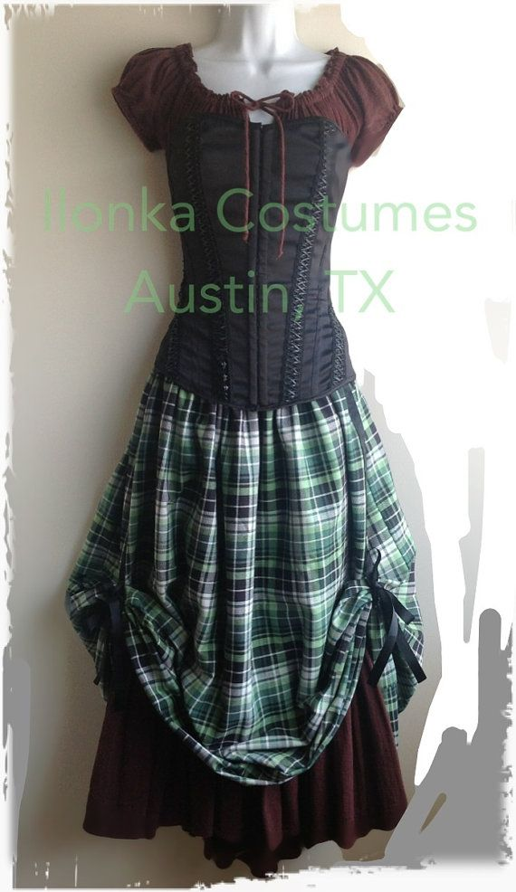 Renaissance Fair Lady Costumes Made to order  by IlonkaDesigns, $190.00