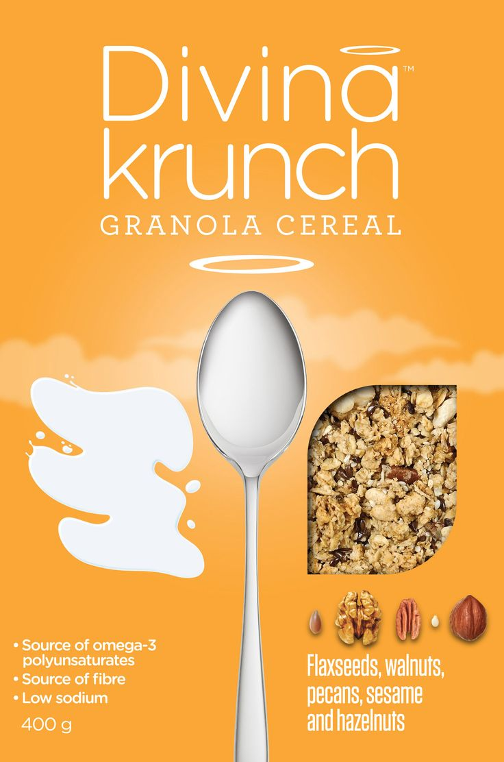 This is a win win combination of granola!  source of omega-3 polyunsaurates Source of fiber Low in Sodium Quality ingredients Crunchy Granola Clusters
