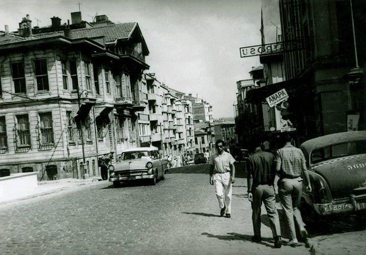 Kadıköy Bahariye Caddesi 1955 yılı / İSTANBUL
