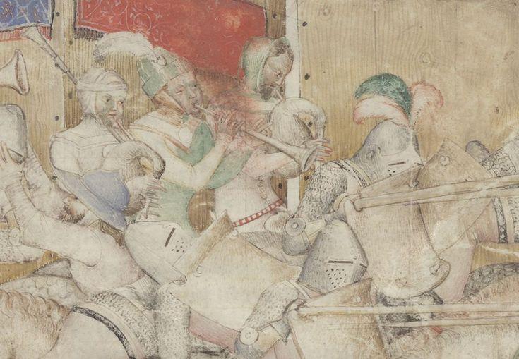 Roman de Giron le Courtois. Instruments of War.