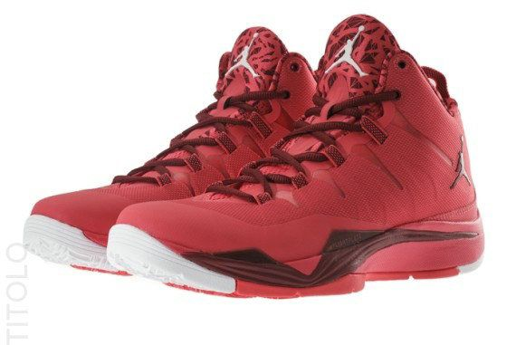 Free Shipping Only 69$ Jordan Super.Fly 2 Fusion Red Team Red White 599945