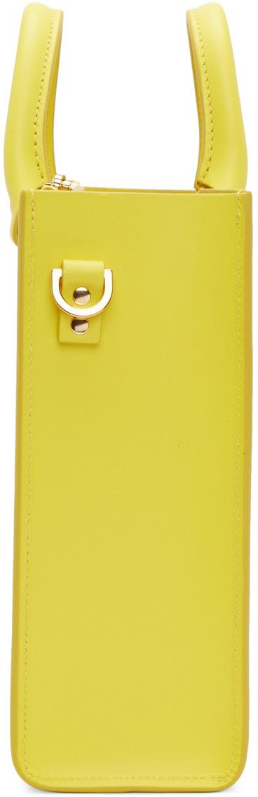 Sophie Hulme - Yellow Square Albion Tote
