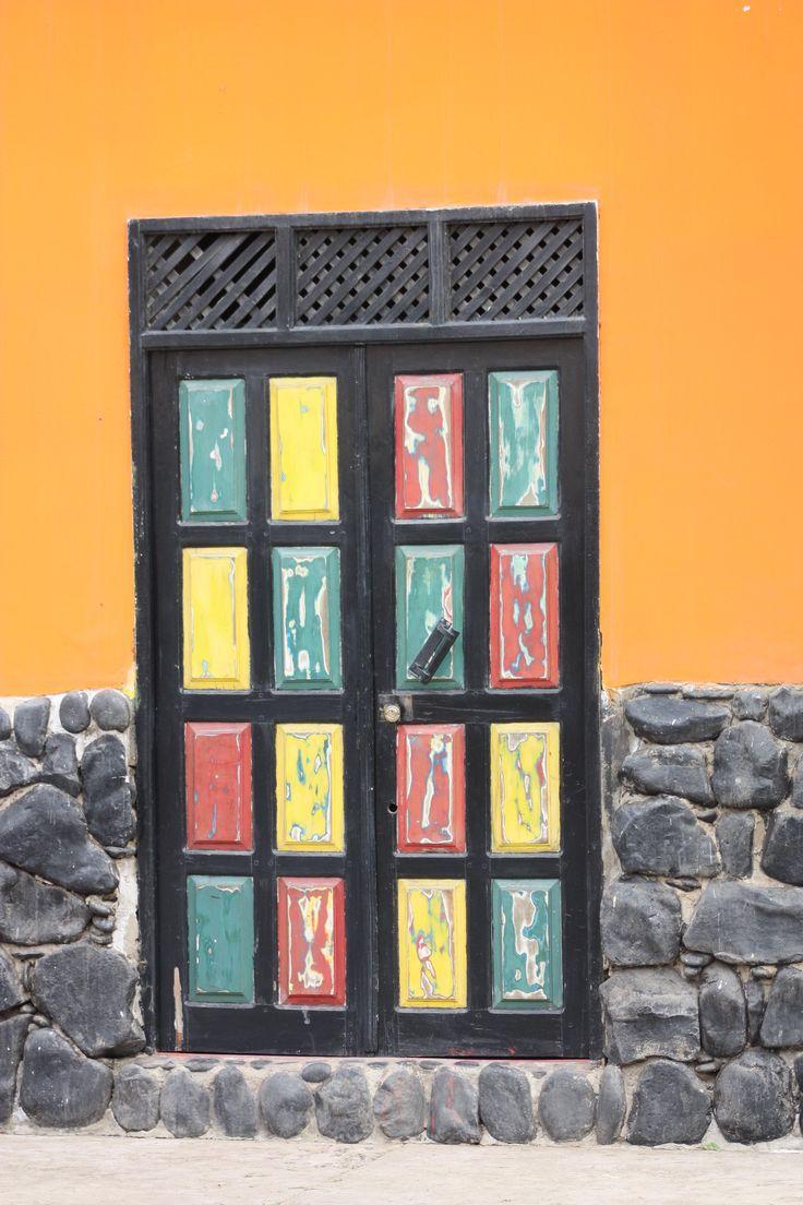 Door in Cape Verde