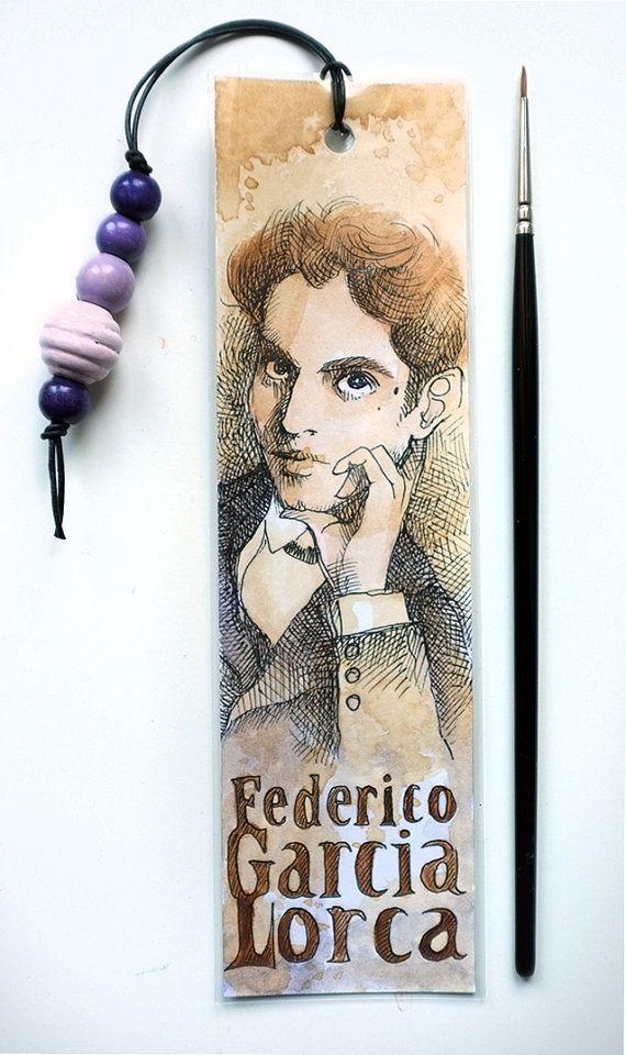 BOOKMARK Federico Garcia Lorca   MrsPeggottyArts