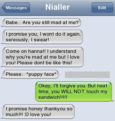 Funny Text Messages Bf/Gf | How To Make Your BF/GF Forgive You After A Fight | LOLnTroll