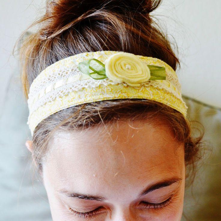 Snugglebug University: Fabric Headband Tutorial