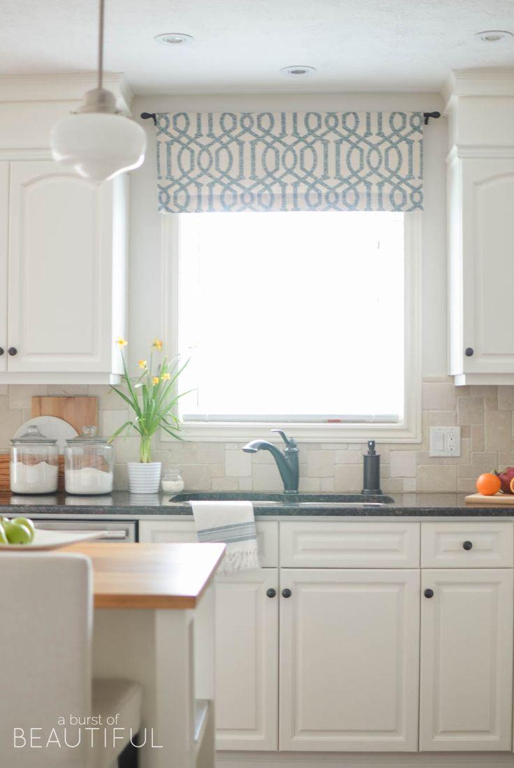 Best 25 Kitchen Window Treatments Ideas On Pinterest