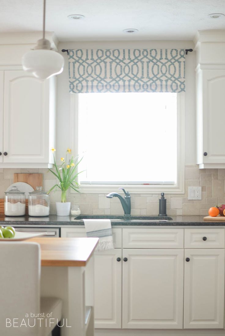 Best 25 kitchen window treatments ideas on pinterest for Best window treatments for kitchen