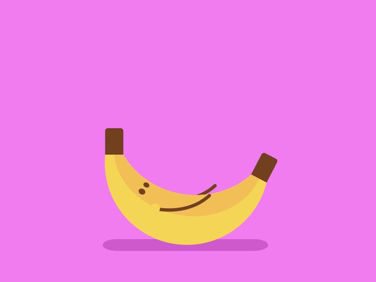 Banana by Robin Griffiths #Design Popular #Dribbble #shots
