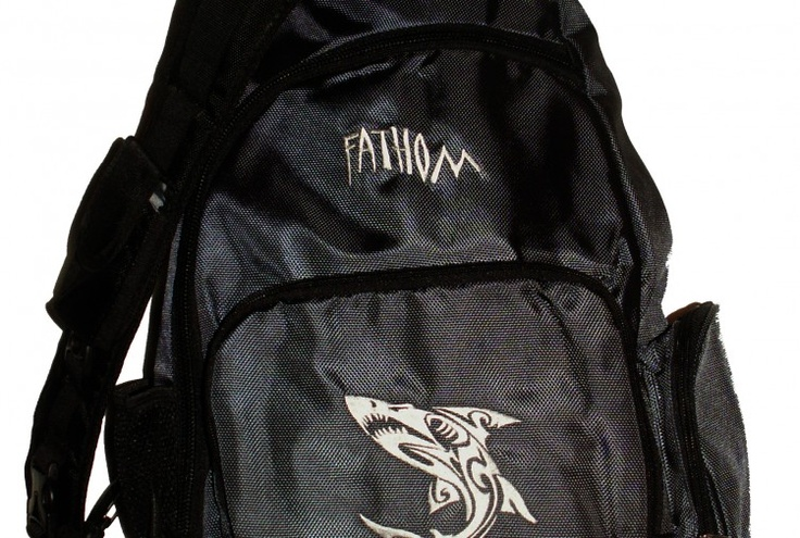Cool #backpack! Design trademarked by Fathom Wear®