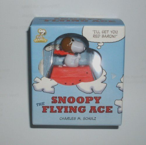 Peanuts Snoopy Flying Ace Pilot Figure with Book Mini Gift Set @ niftywarehouse.com #NiftyWarehouse #Peanuts #CharlieBrown #Comics #Gifts #Products