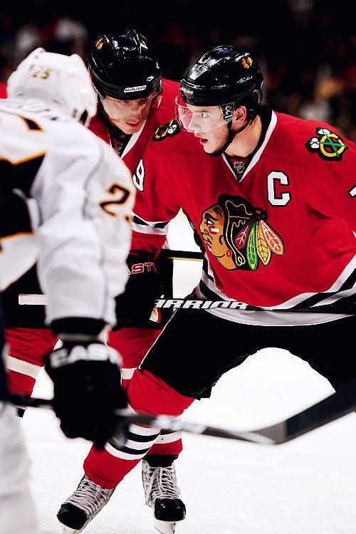 Jonathan Toews & Marian Hossa • Chicago Blackhawks