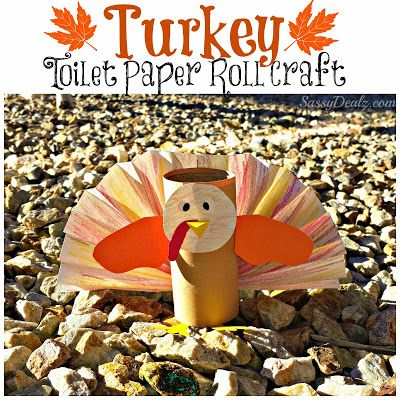 Turkey Toilet Paper Roll Craft For Kids (Thanksgiving Art Project) - Crafty Morning