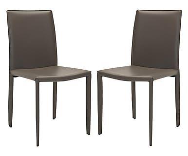 Набор из 2 стульев - железо - серый, 48х57х91 см