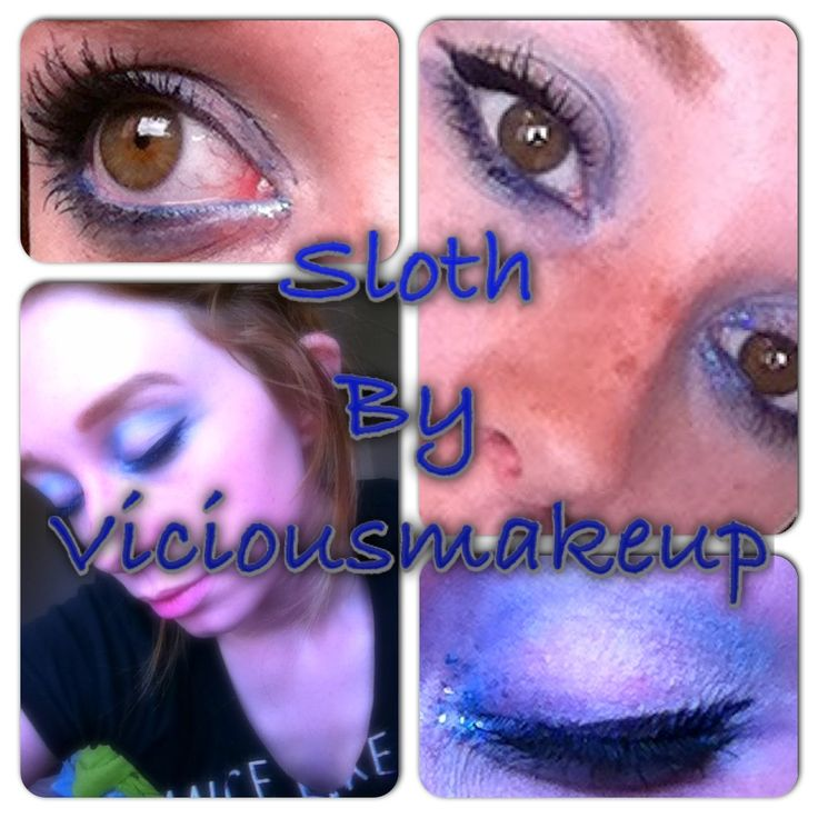 Makeup Ideas sloth makeup : sins inspire makeup: 4. Sloth : Makeup looks : Pinterest : Makeup ...