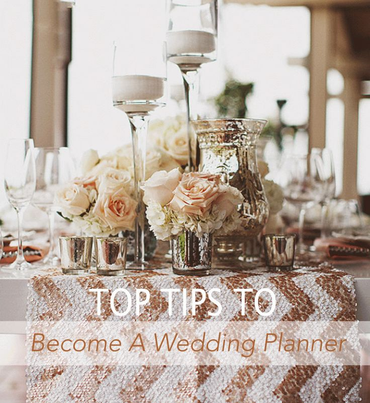 29 best Become a wedding planner images on Pinterest Wedding