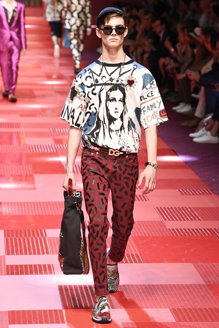 Dolce gabbana spring 2018 menswear fashion show Good style fashion show cleveland