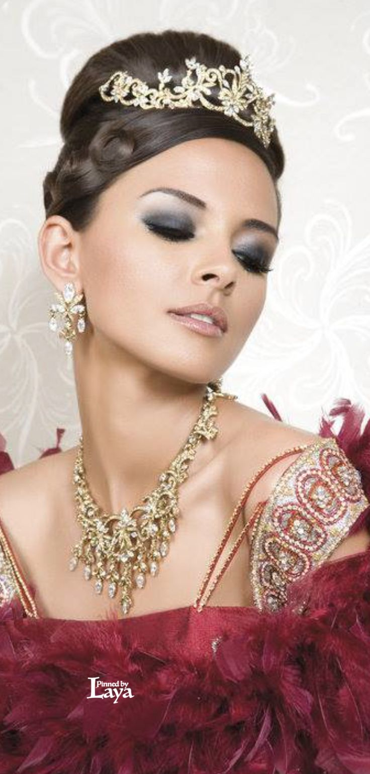 776 best arabian indian brides images on pinterest for Indian jewelry queens ny
