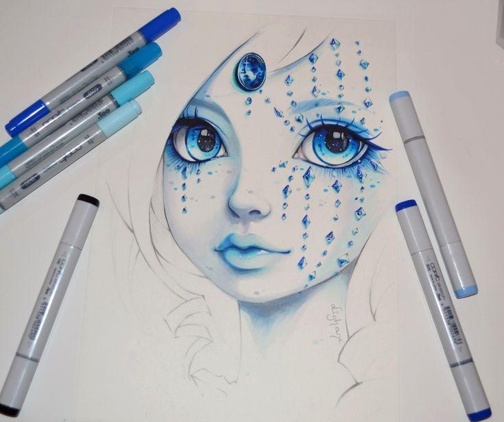 Lady Sapphire by Lighane on DeviantArt