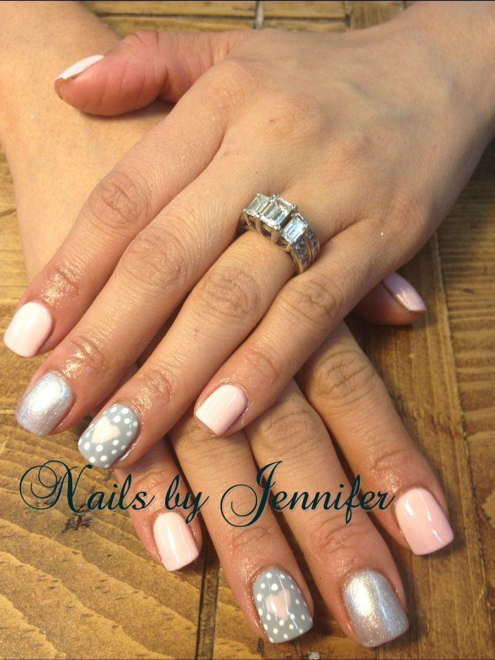 Pinterest inspired Gelish nails