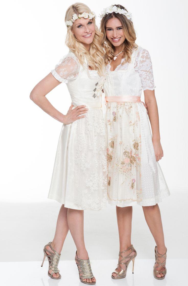 Tolle Hochzeitsdirndl zu mieten bei dresscoded.com. #dresscoded