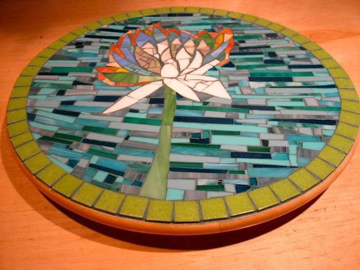 94 Best Mosaic Lazy Susan Images On Pinterest Mosaics