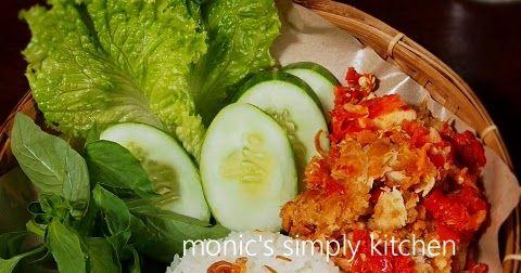 Resep Ayam Geprek ala Monic | Monic's Simply Kitchen