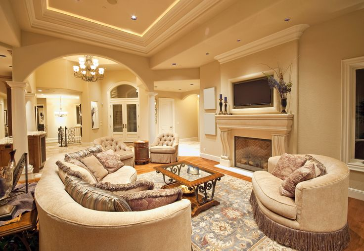 75 Formal & Casual Living Room Designs & Furniture | Fireplaces ...