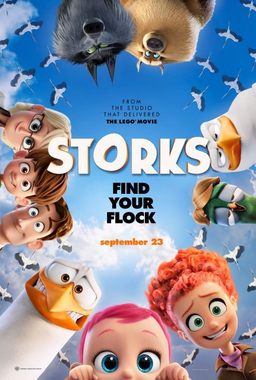 Reward your child with a family movie night to go see Storks in theaters September 23. We promise they'll do their chores for this one!