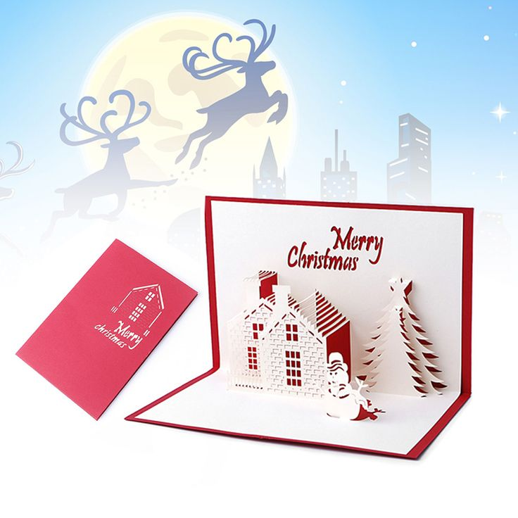 Christmas Cards 3D Pop Up Merry Christmas Series Santa's Handmade Custom Greeting Cards Christmas Gifts Souvenirs Postcards #>=#>=#>=#>=#> Click on the pin to check out discount price, color, size, shipping, etc. Save and like it!