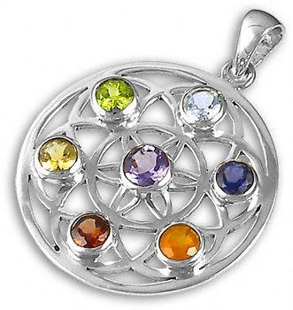 Pendente-prata-flor-vida-pedras-preciosas-cristais-cura-joalharia