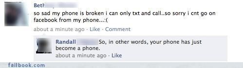 These people got OWNED on facebook by their friends.  http://4kblue.com/the-best-comebacks-on-facebook