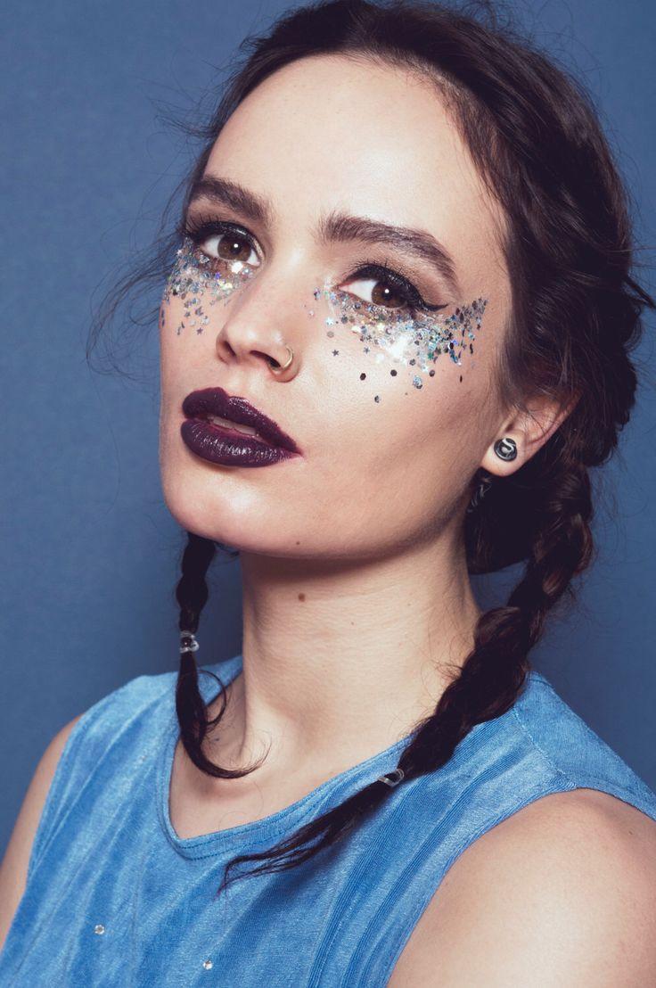 Klobige Glitter Silber SELENE von In Ihren Träumen - die mythischen Collection von itsInYourDreams auf Etsy https://www.etsy.com/de/listing/276084212/klobige-glitter-silber-selene-von-in