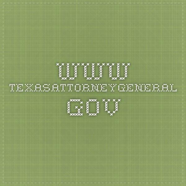 www.texasattorneygeneral.gov