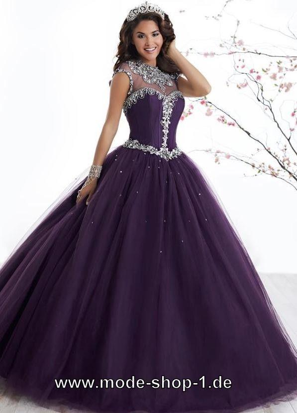 Kleider dunkel lila