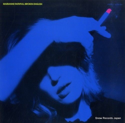 スノー・レコード・ブログ: マリアンヌ・フェイスフル / FAITHFULL, MARIANNE - ブロークン・イングリッシュ...