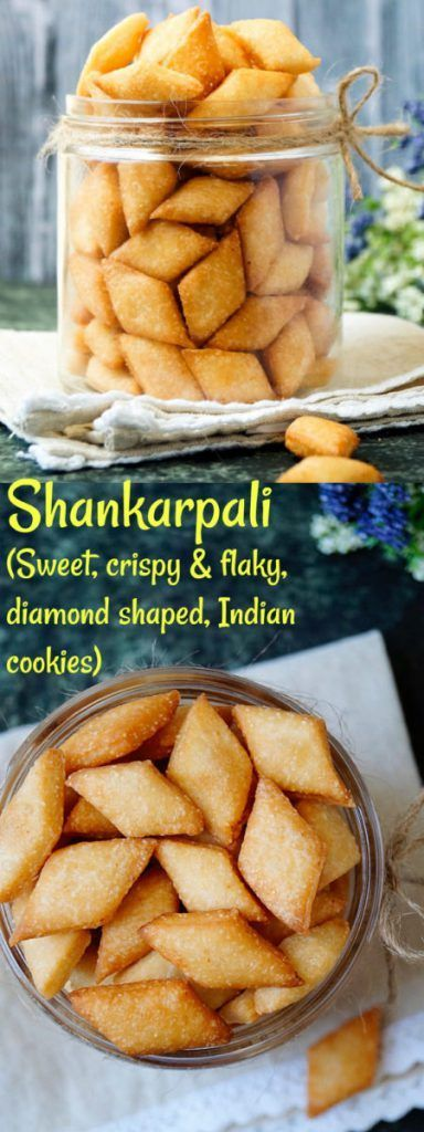 Shankarpali | Shakkarpara, Step-by-step recipe with pictures to make Shankarpali (sweet,crispy and flaky, diamond shaped, Indian cookies) #shankarpali #goanfood #Christmassweets @aromaticessence