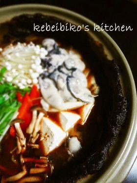 牡蠣の土手鍋 by kebeibiko [クックパッド] 簡単おいしいみんなの ...