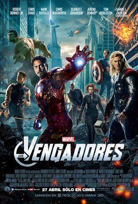 Los vengadores(2012):son un grupo de superhéroes formado por personajes de la editorial estadounidense Marvel Cómics.