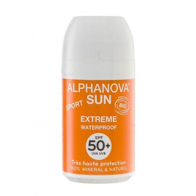 Krem przeciwsłoneczny w kulce filtr 50+ / Alphanova