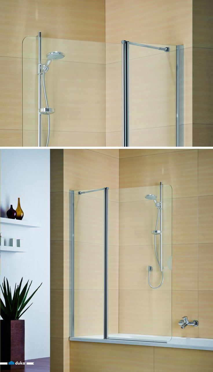 You need a foldable bathtub shower door or a foldable bath screen? The multi-S 4000 could be a beautiful, yet functional solution. Mounted on your existing bathtub it becomes a practical upgrade for your bathroom!