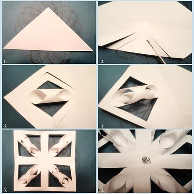 12 best snowflakes images on pinterest paper snowflakes for Diy paper snowflakes 3d