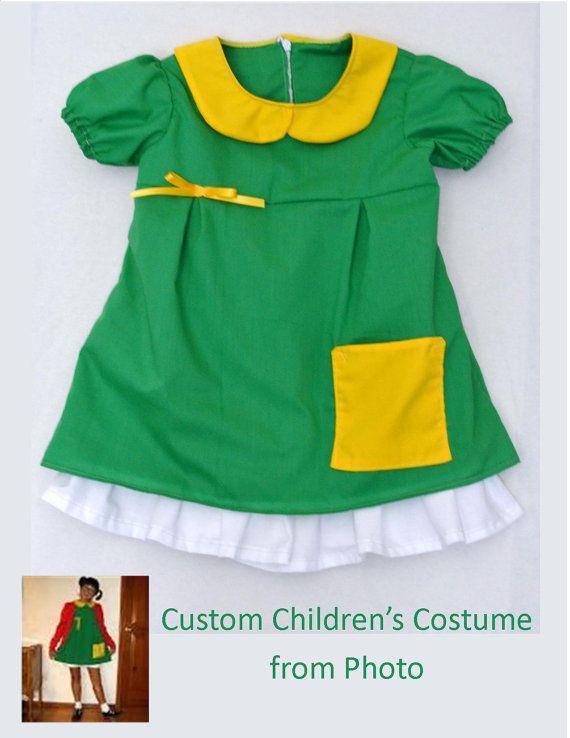 El Chavo del Ocho inspired girls dress by WildChildWears on Etsy, $40.00 #elchavodelocho #chilindrina #elchavocostume