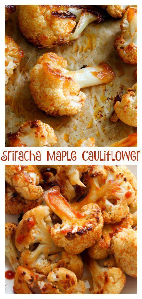 Ahorn Sriracha Gebratener Blumenkohl #Süßer Blumenkohl #Ahorn #Sriracha – Ideen (…   – Radishes Recipe